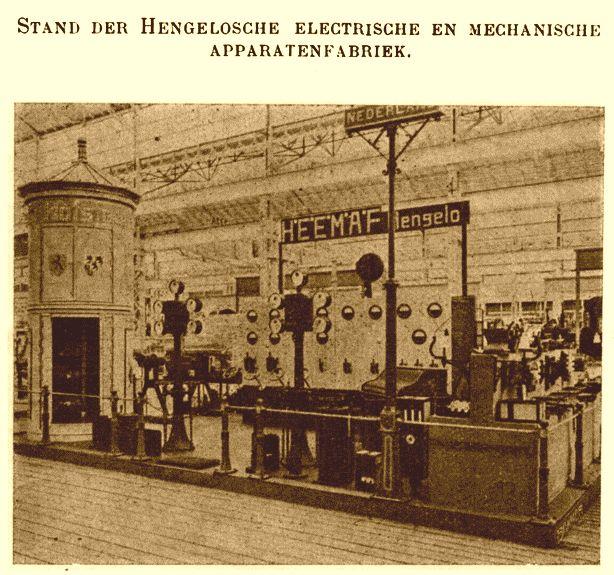 Heemaf op de Wereldtentoonstelling Brussel 1910