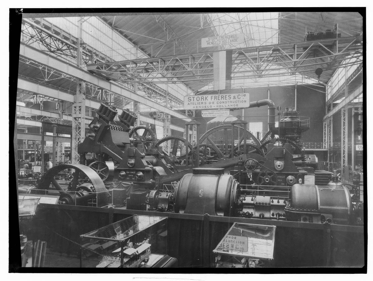 Stork op de Wereldtentoonstelling Brussel 1910