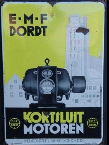 EMF Kortsluitmotoren (emaille bord)